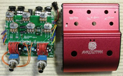 AnalogMan's AnalogDelay ARDX20 Rev.3