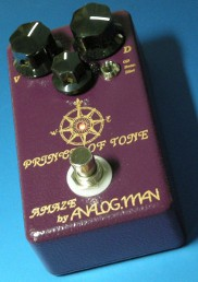 AnalogMan's CustomOD pedal, Prince of Tone Serial Number1